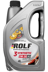 Motor oil ROLF 3-SYNTHETIC 5W-30