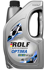 Motor oil ROLF OPTIMA 15W-40 SL/CF